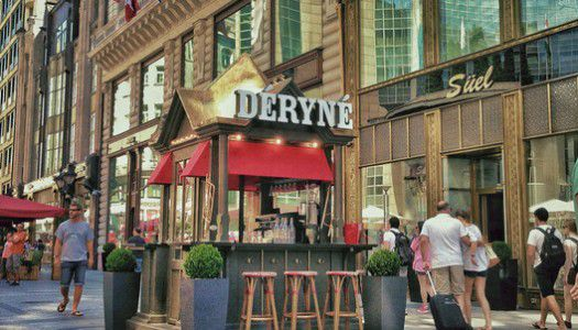 Breakfast at Déryné…