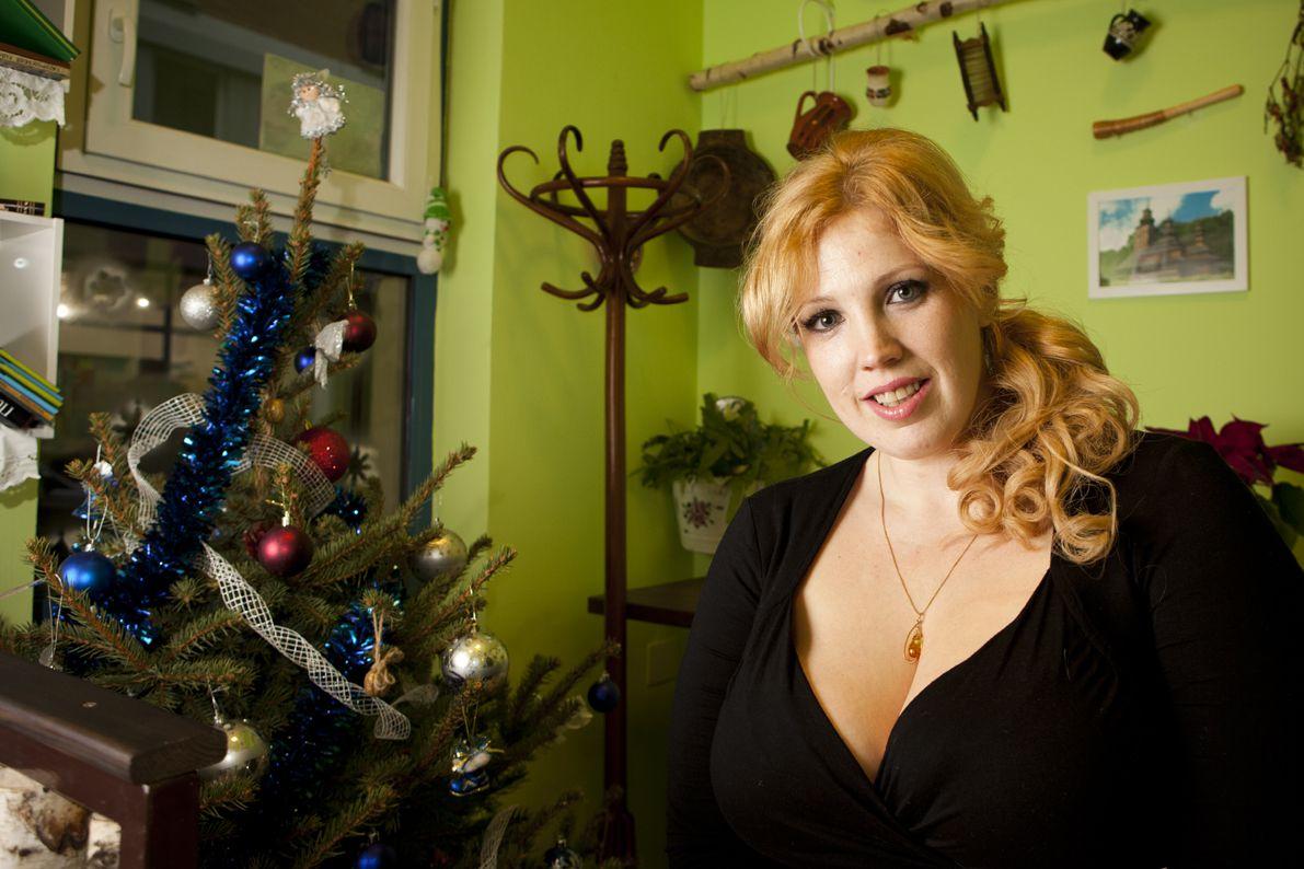 Madai Karolina, a Kolobok ételbár tulajdonosa és szakácsa - fotó: Nagy Balázs