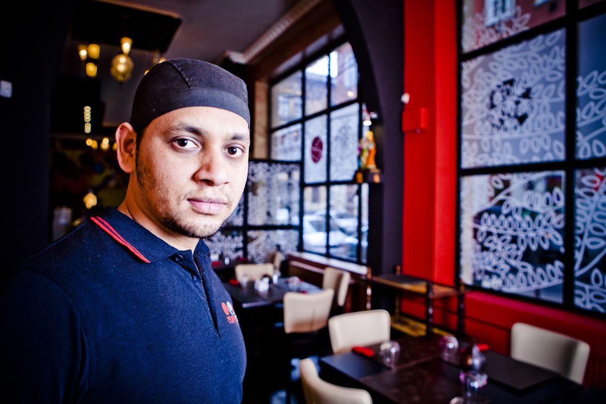 Deepak Negi Kumar még jobban csípne - fotó: Nagy Balázs