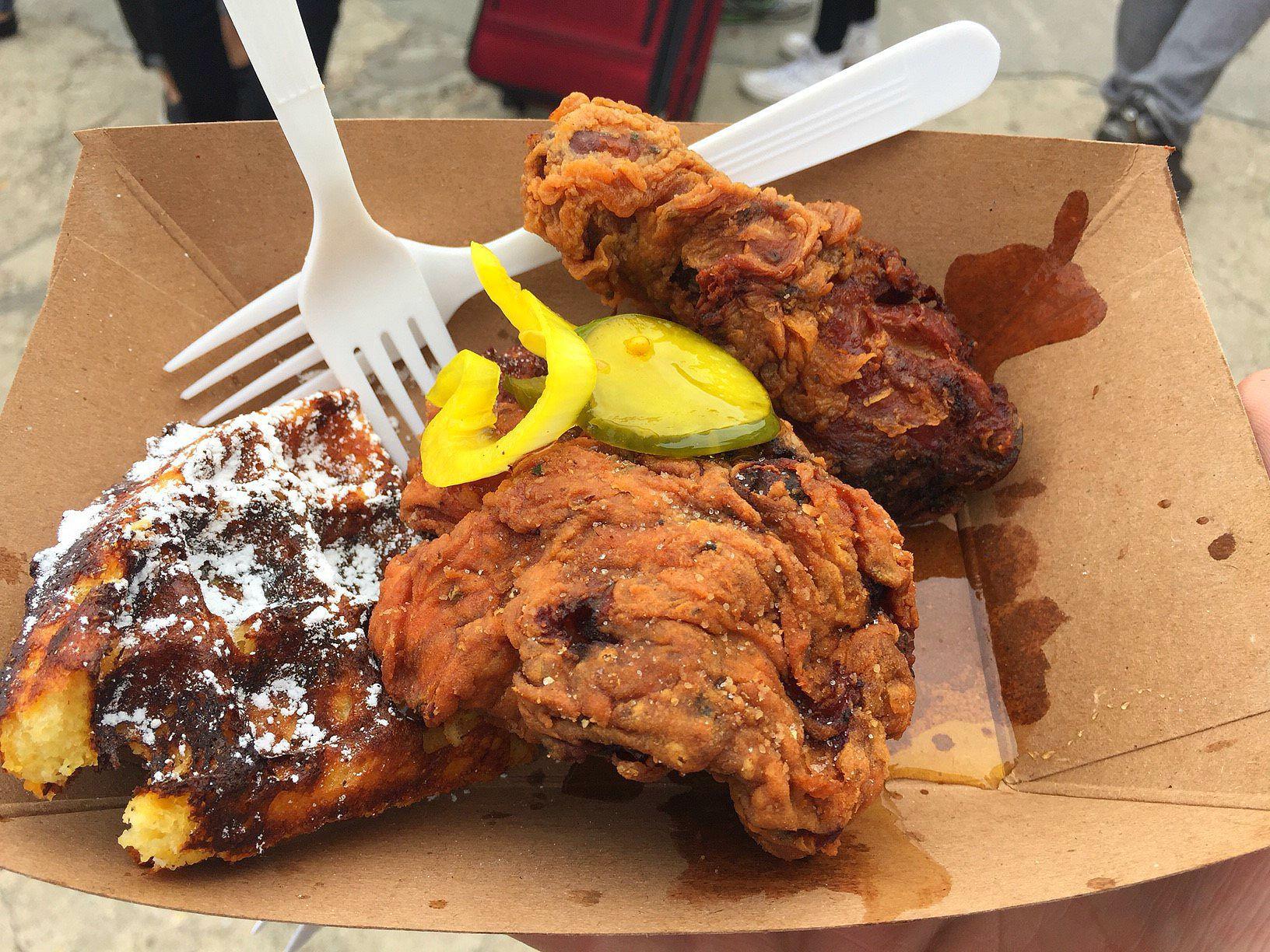 Buttermilk Fried Chicken fotó: a szerző felvétele