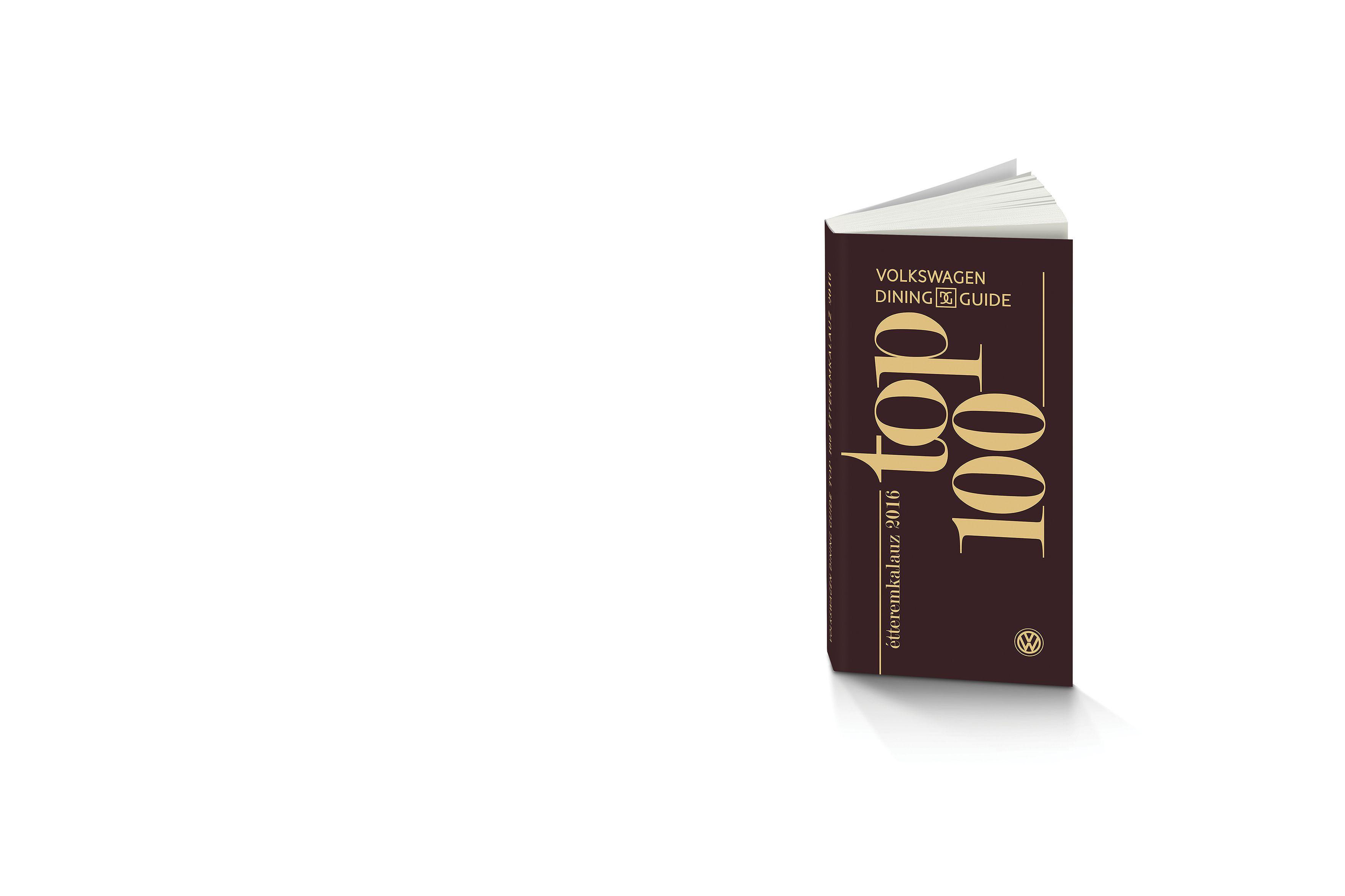 Tőlünk is megrendelheti a Top 100 étteremkalauzt!