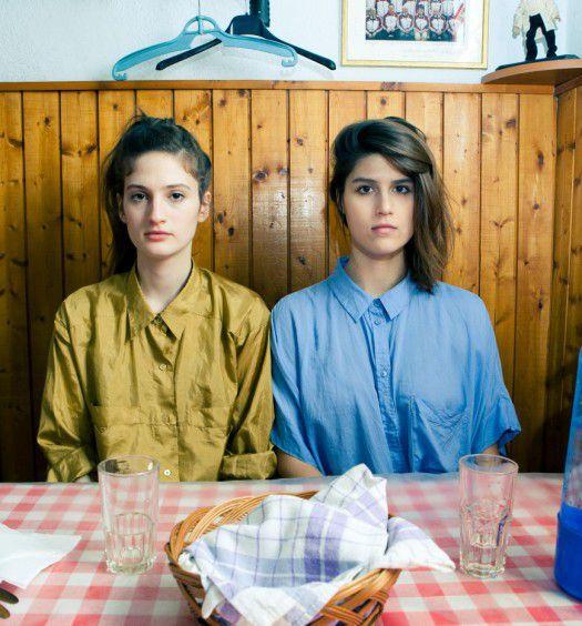 Walters Lili (bal oldal) és Benedek B. Ágota fotó: Nagy Balázs