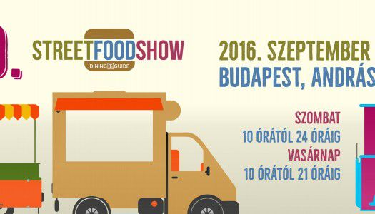 Ezek lesznek a 10. Dining Guide Street Food Show kiállítói
