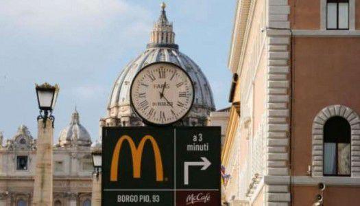 Áldatlan hamburgerek: megnyílt a vatikáni Meki