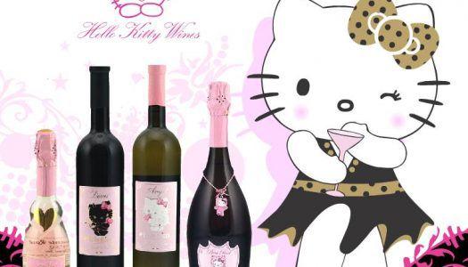 Habzó cukiság: Hello Kitty borok
