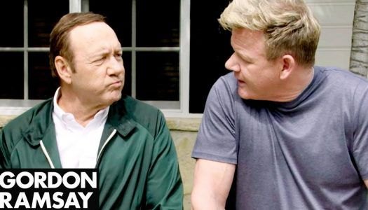 Gordon Ramsay vs Kevin Spacey