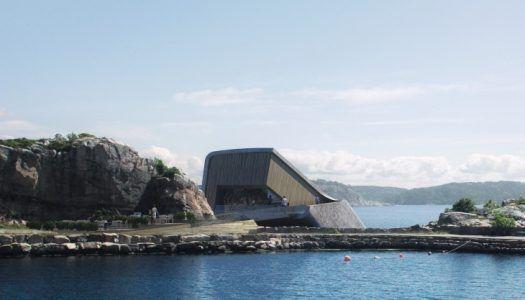 Vacsora öt méterrel a tenger alatt: épül a világ legnagyobb víz alatti étterme