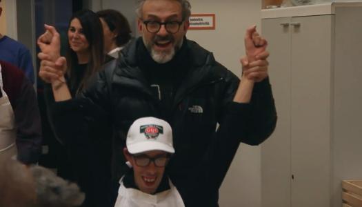 Újabb fal lebontásában: Massimo Bottura autista fiataloknak segít