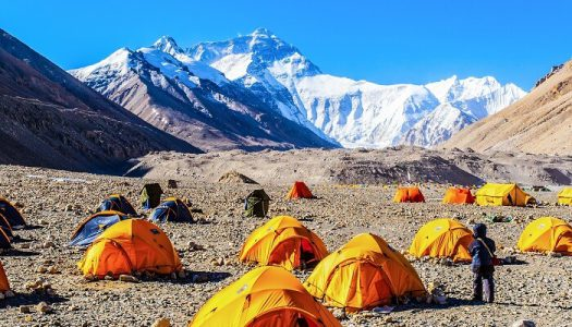 Szó szerint csúcsgasztronómia: pop-up étterem az Everesten