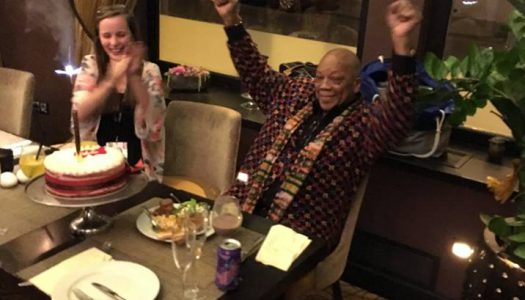 Quincy Jones, a Mezzo és Auguszt József tejszínes epertortája