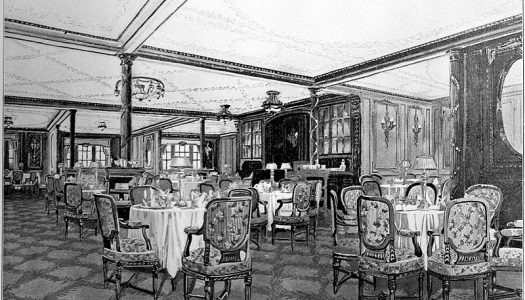 Utolsó vacsora – A Titanic első osztályának menüsora